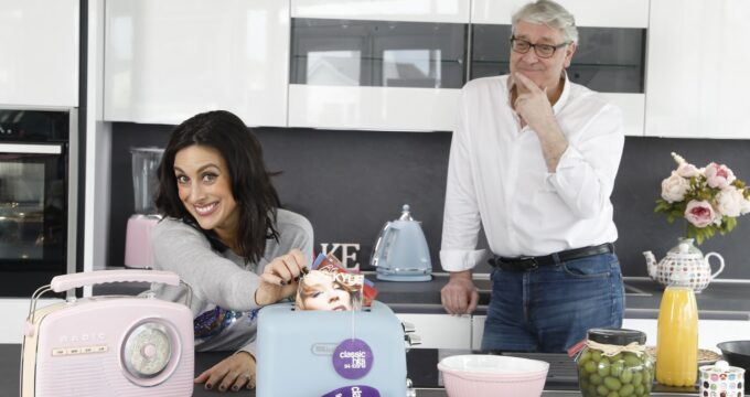 Colm Hayes & Lucy Kennedy launch new breakfast show on Ireland's Classic Hits